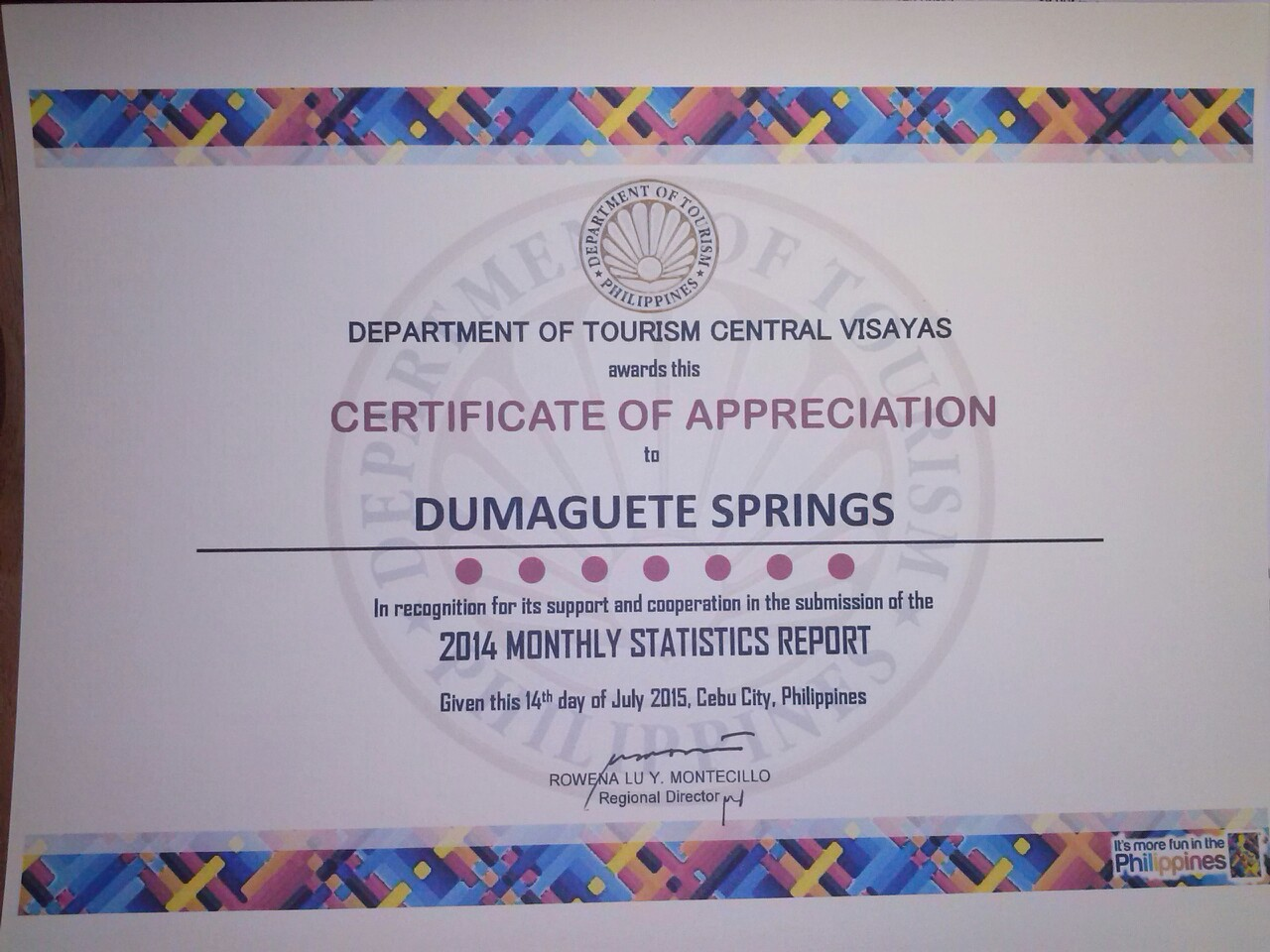 apt certificate